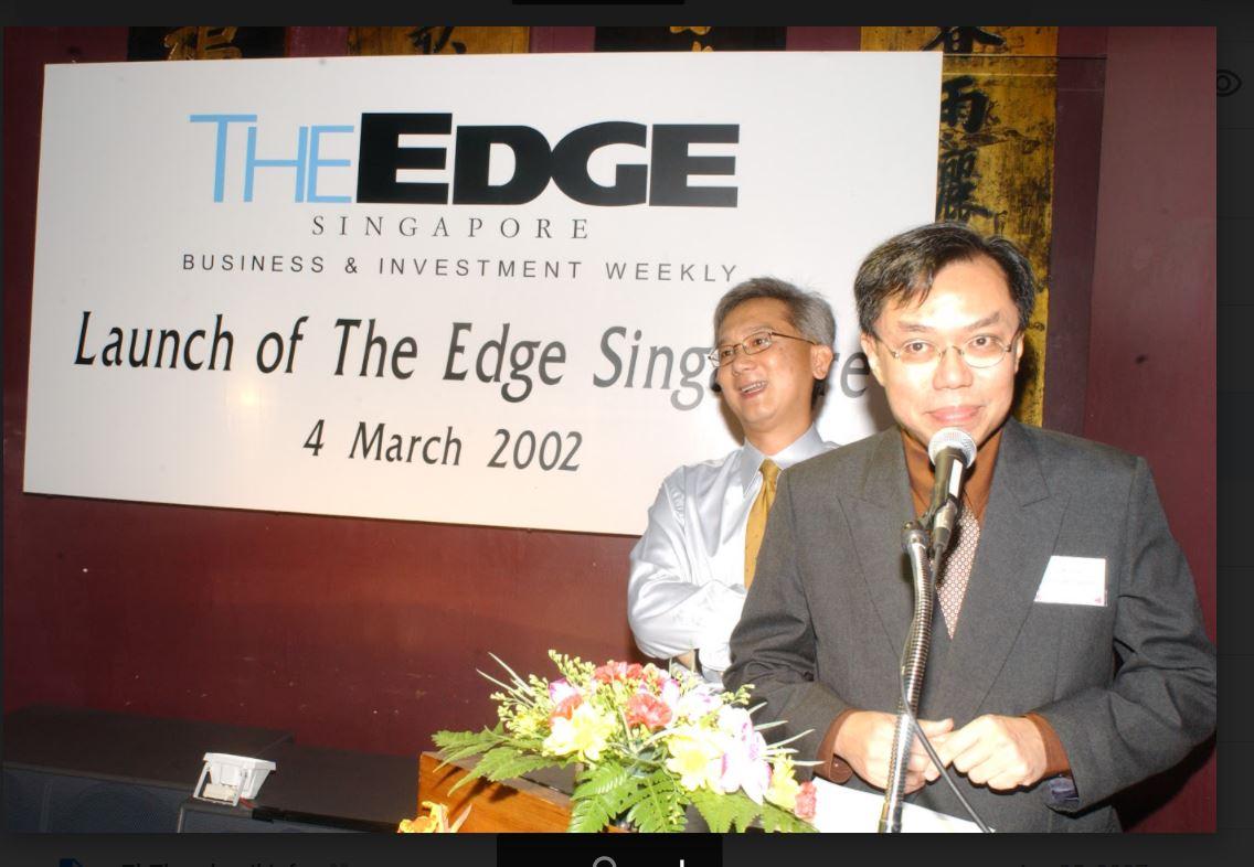 What if The Edge…? - THE EDGE SINGAPORE
