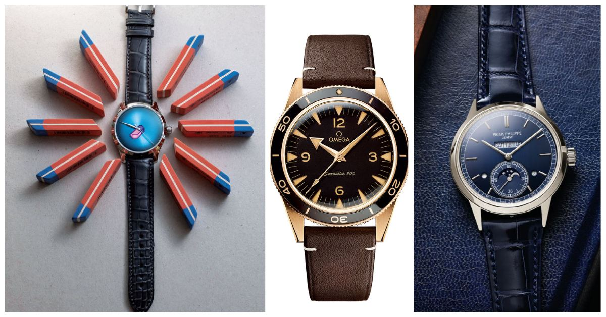 11 outstanding new watches in 2021 for your next luxury timepiece - THE EDGE SINGAPORE