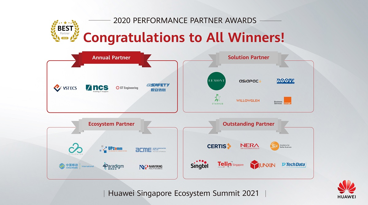 Huawei Ecosystem Summit 2021 aims to help businesses transform with growth - THE EDGE SINGAPORE