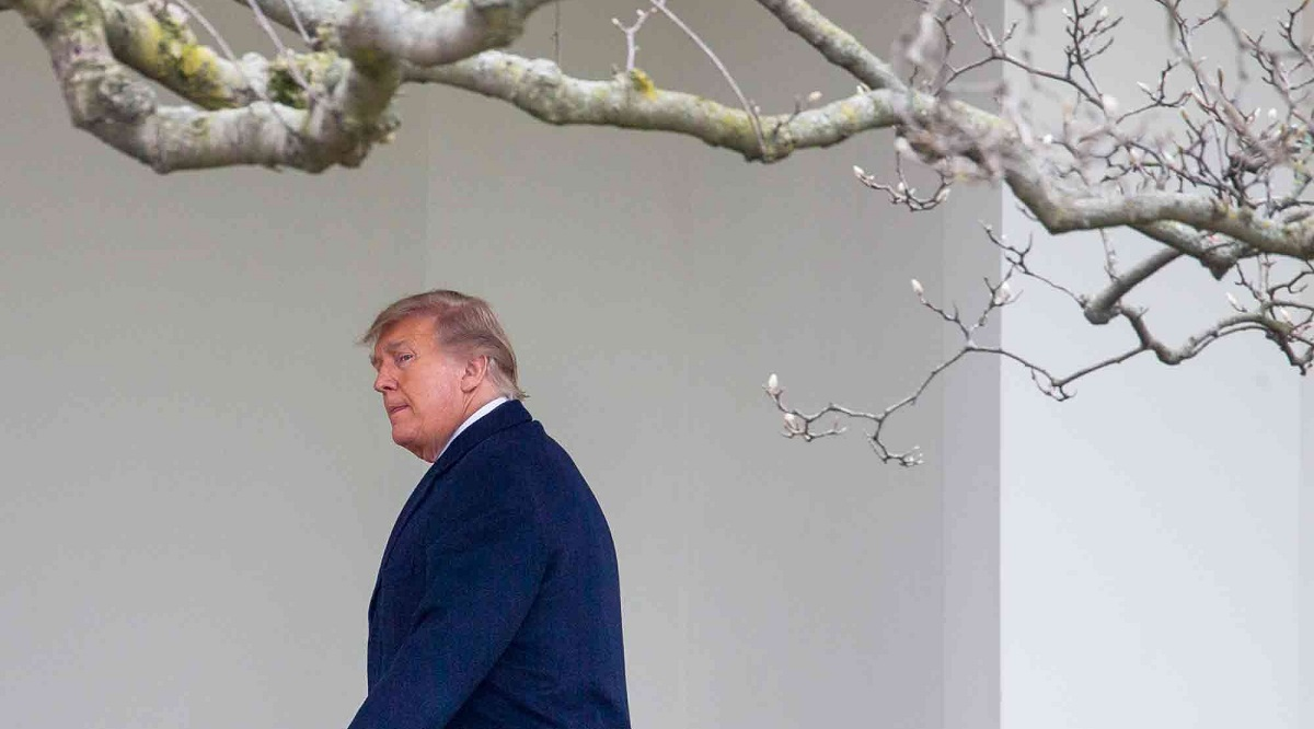 Trump leaves town an outcast, trailed by pandemic, job losses - THE EDGE SINGAPORE