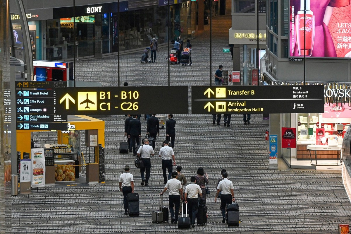 Singapore opens bubble for business travelers at Changi Airport