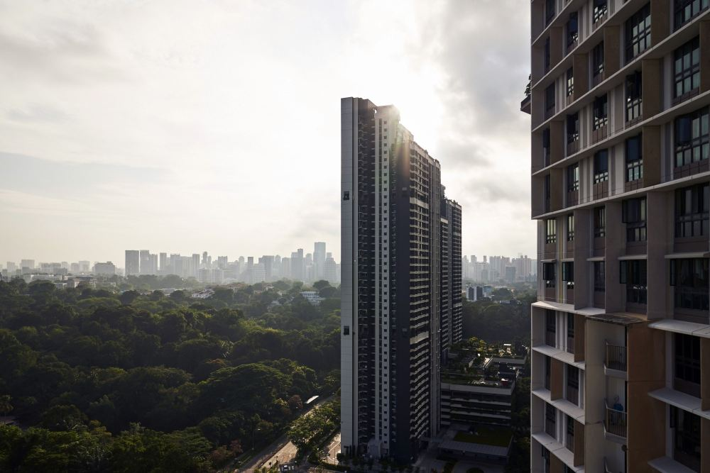 Singapore new private home sales doubled in March, fuelling concerns on cooling measures
