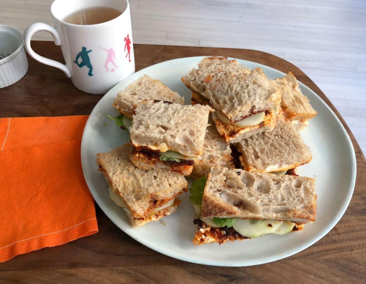 Make delicious chilli jam tea sandwiches with this recipe by Pepper Teigen - THE EDGE SINGAPORE