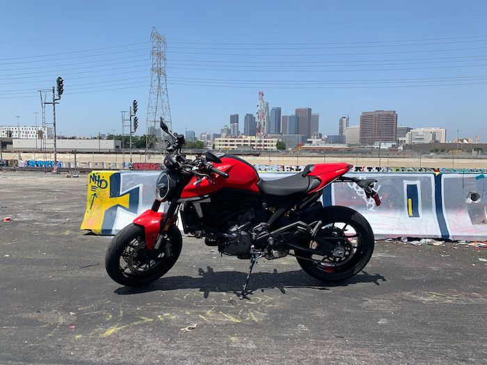 Set yourself free with the new Ducati Monster
