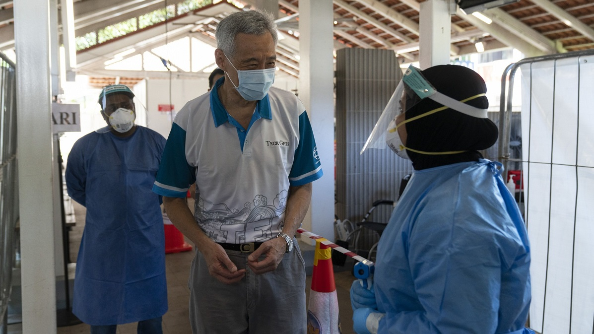 PM Lee pushes for living with covid, without the fear - THE EDGE SINGAPORE