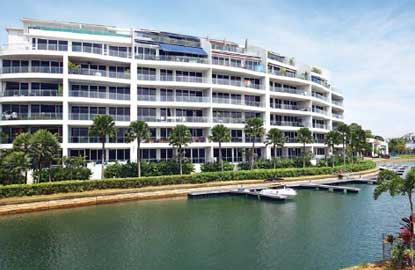 o Bee Land made a name for itself by developing luxury properties such as the Turquoise on Sentosa Island