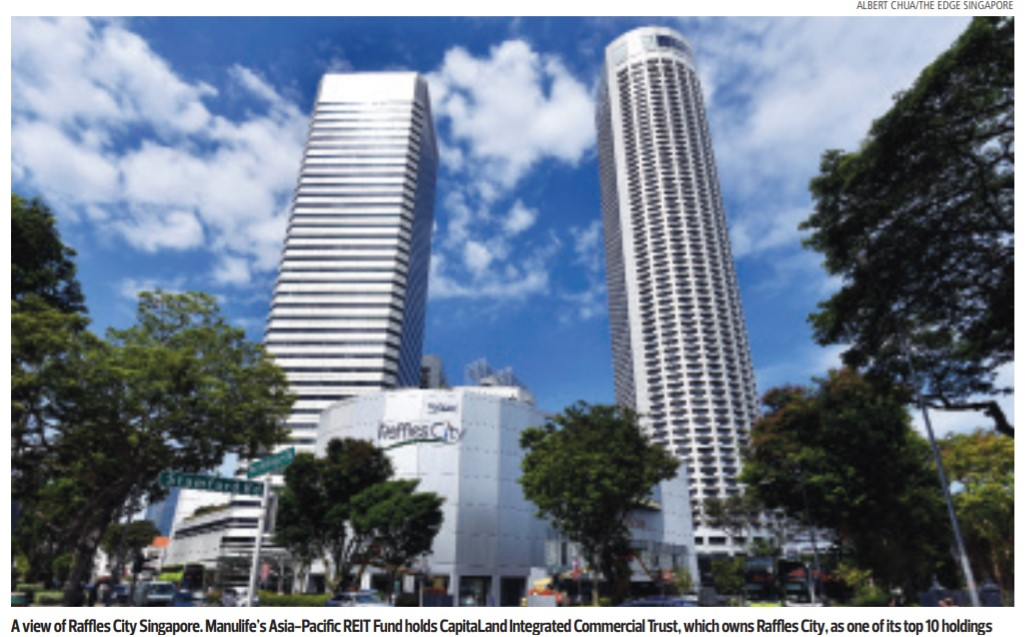 What CapitaLand's restructure means for its REITs  - THE EDGE SINGAPORE