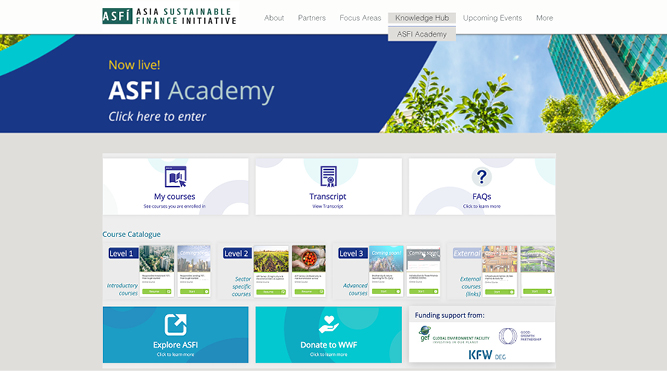 WWF-Singapore launches online courses on sustainable finance  - THE EDGE SINGAPORE