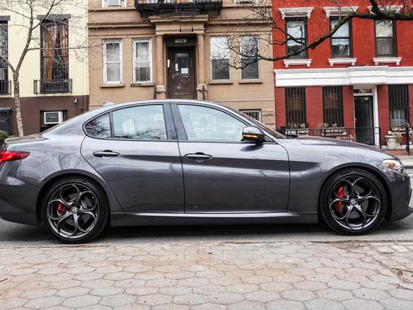 The Alfa Romeo Giulia Ti is a fancy sedan for people tired of fancy sedans