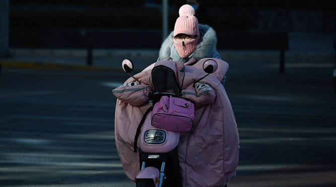 Beijing's coldest spell since 1966 is spurring energy prices