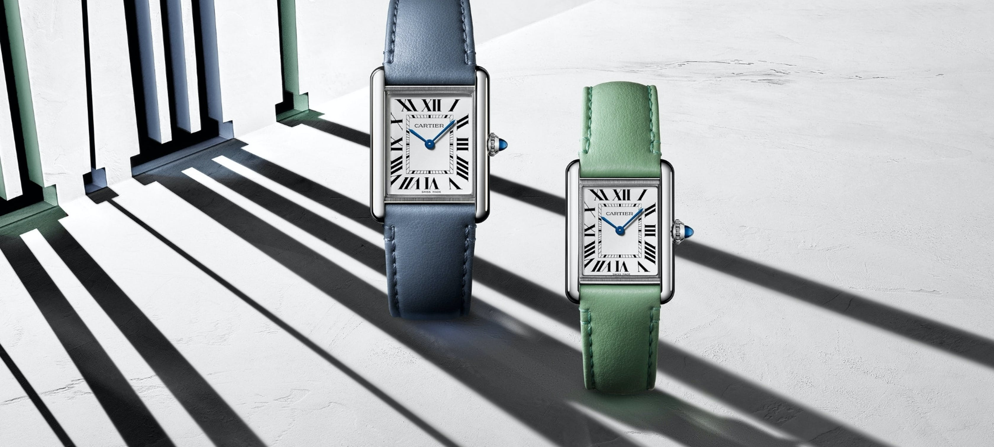 Introducing Cartier's new Tank Must watch collection