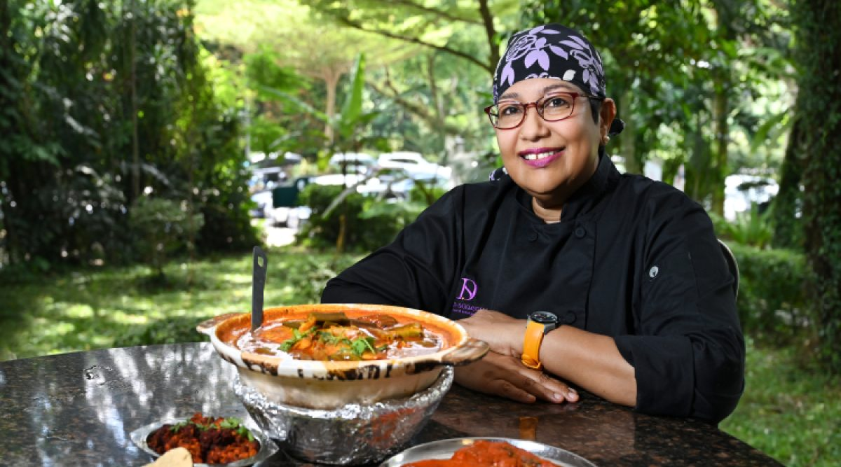 Dive deeper into traditional Asian cuisine with spice queen and cookbook author Devagi Sanmugam   - THE EDGE SINGAPORE