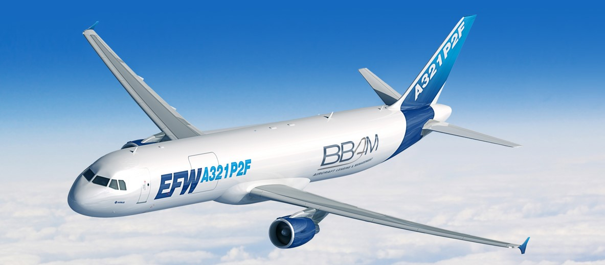 BBAM and ST Engineering JV announce order for Airbus A320/A321P2F Conversion