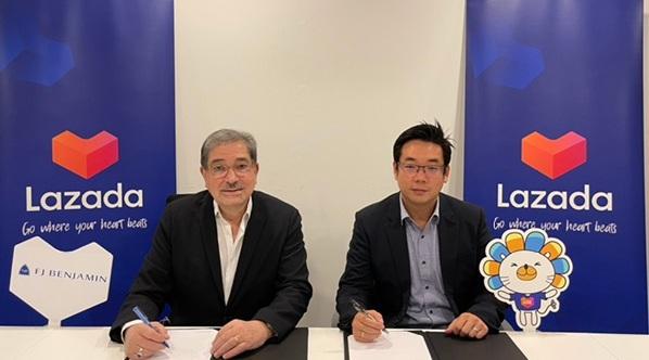FJ Benjamin and Lazada Singapore enter partnership to boost online-offline sales - THE EDGE SINGAPORE