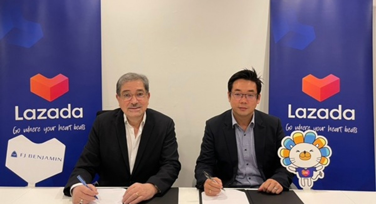 FJ Benjamin signs omnichannel solutions agreement with Lazada Singapore - THE EDGE SINGAPORE