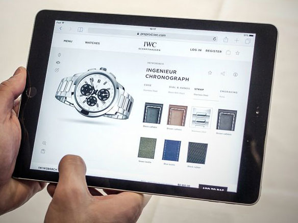 IWC breaks from Swiss ranks with online tool for made-to-order watches