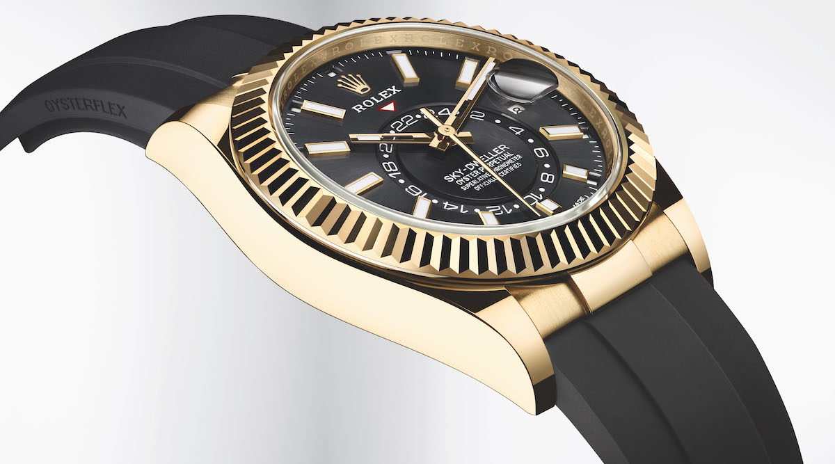 The sky's the limit for the new Rolex Oyster Perpetual Sky-Dweller