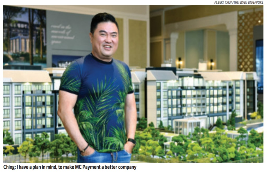 Ching's plans for MC Payment involve name change, growth and collaboration - THE EDGE SINGAPORE