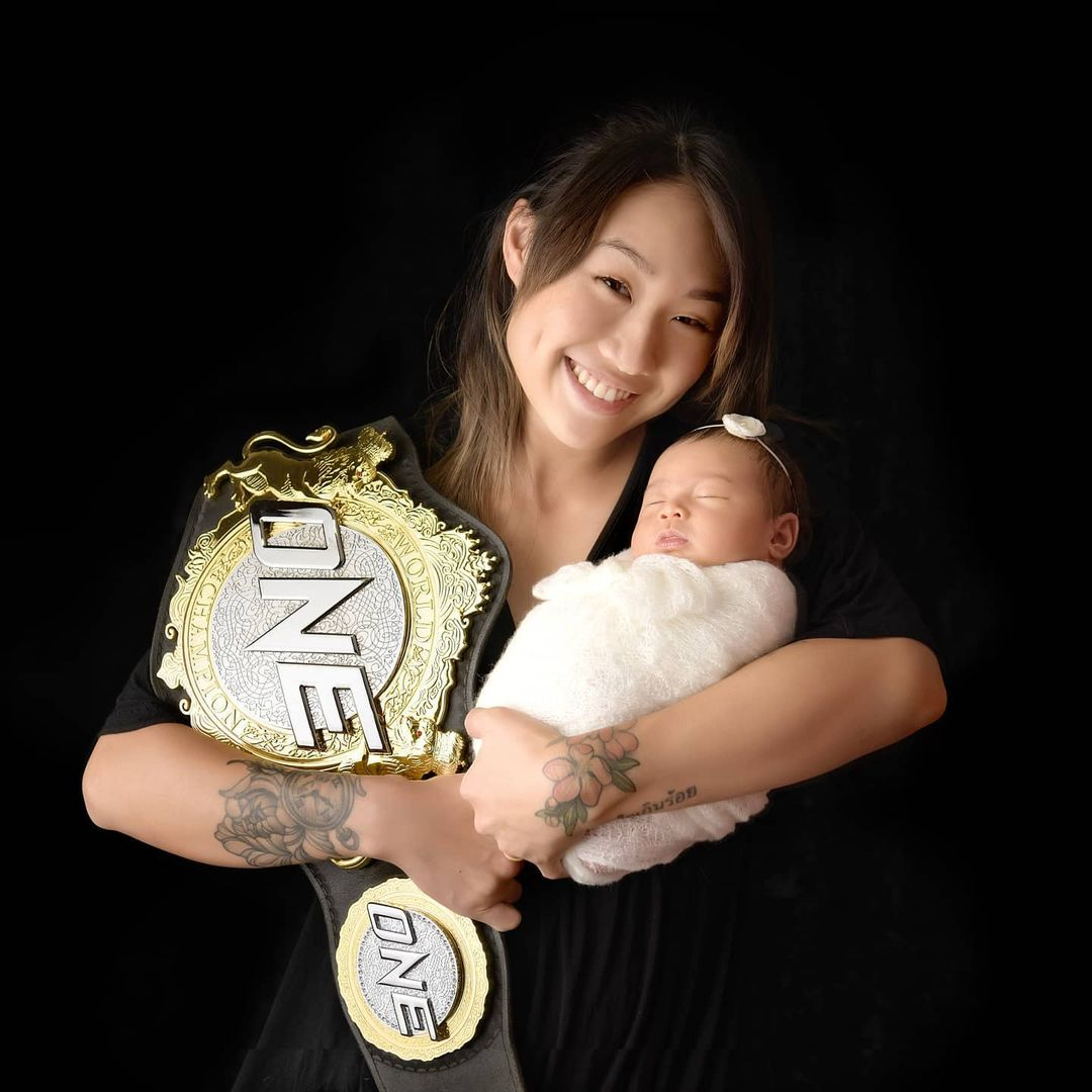 One Championship MMA fighter Angela Lee plans her return after birth of baby  - THE EDGE SINGAPORE
