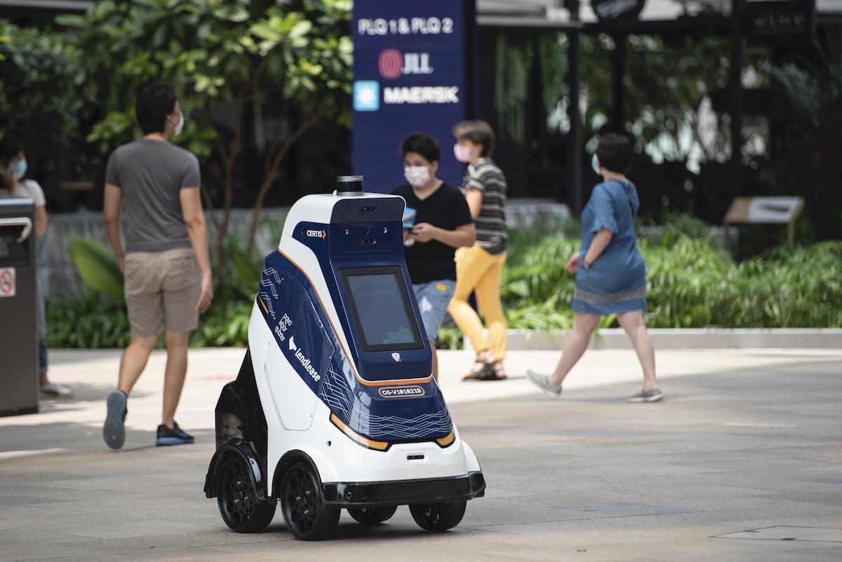 Paya Lebar Quarter leverages Certis' robot to enhance the shopper experience - THE EDGE SINGAPORE