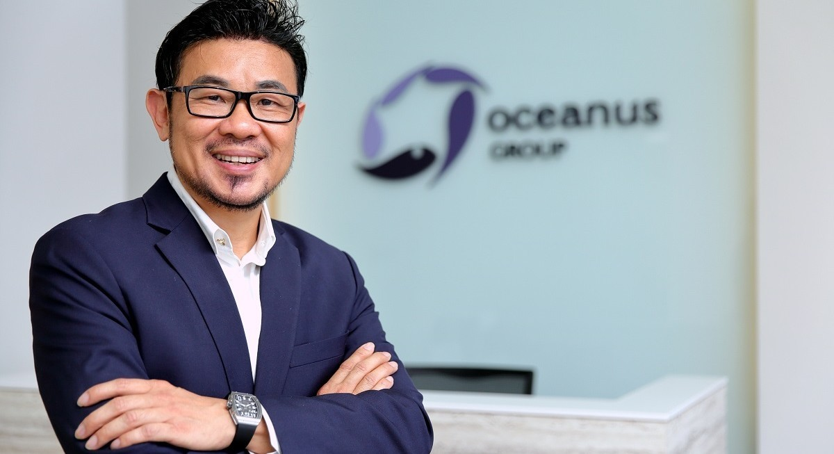 Oceanus CEO Koh, fresh from refuting rumours, bought 12.5 mil shares at 4.07 cents each