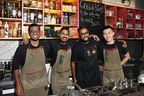 The Elephant Room's Yugnes Susela introduces a new menu of Little India-inspired cocktails - THE EDGE SINGAPORE