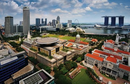 Singapore office REITs