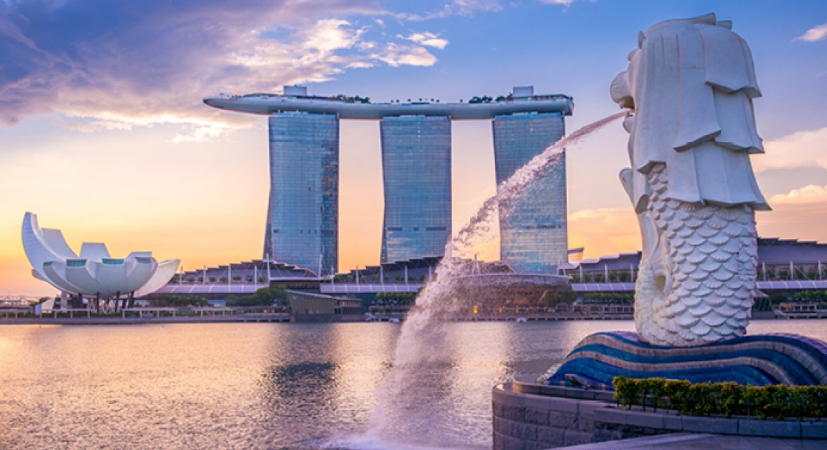 What does it mean for Singapore when foreign-listed shares are included in the MSCI index?