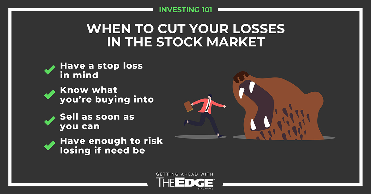 When to cut your losses in the stock market