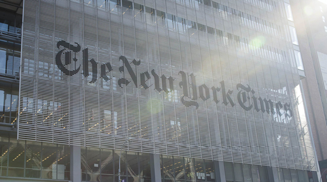 New York Times sells NFT column in auction for US$560,000 - THE EDGE SINGAPORE
