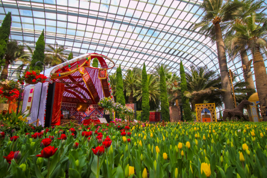 Weekout: Gardens by the Bay, Fat Cow, Lino, Chivas, D'Ultimate Xcape  - THE EDGE SINGAPORE