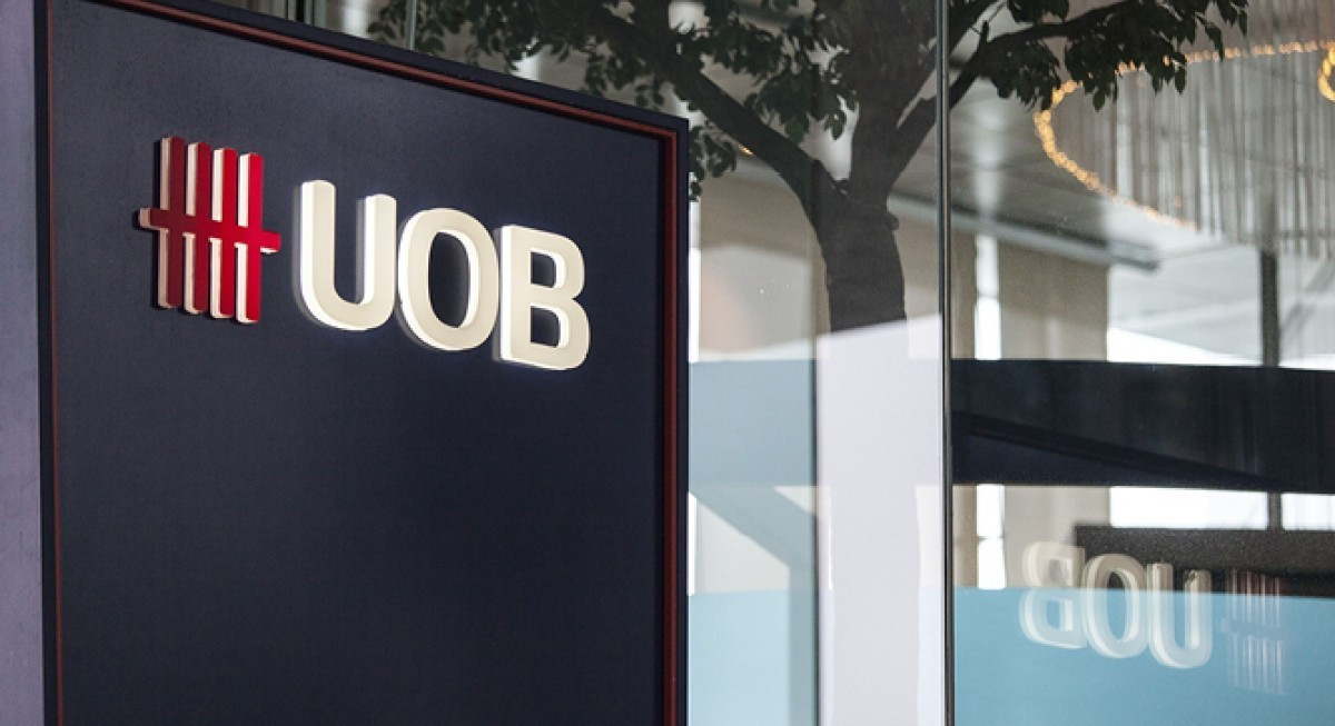 UOB is CGS-CIMB's top pick among Singapore banks; valuations 'more attractive' than peers