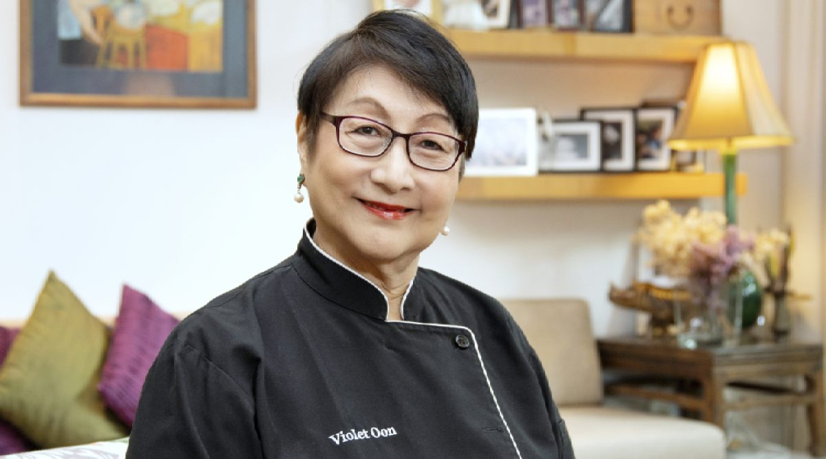 Cooking doyenne Violet Oon talks about Singapore's hawker culture and how chefs can remain hopeful amid Covid-19 - THE EDGE SINGAPORE