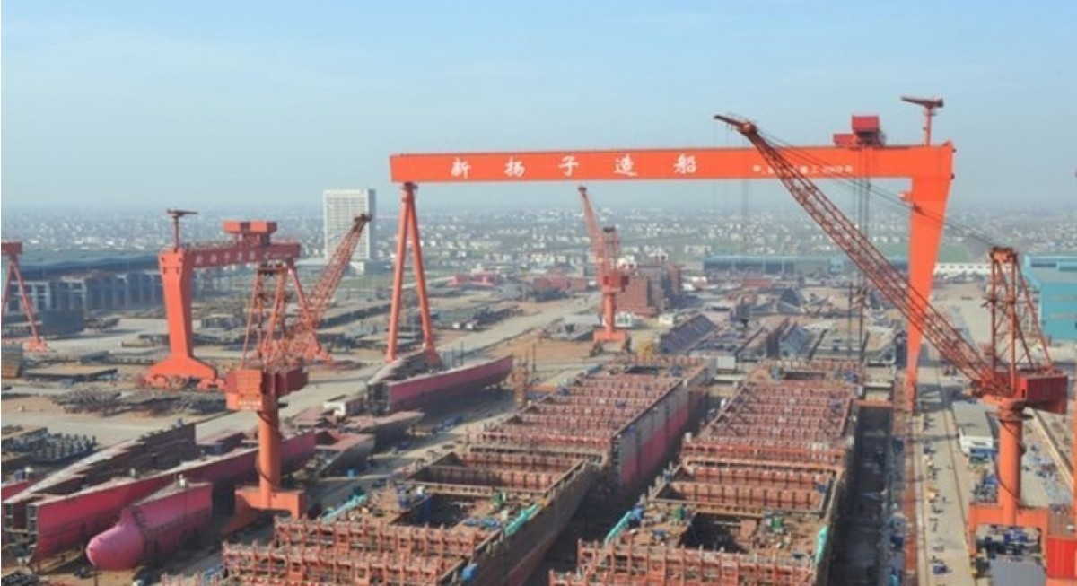 Yangzijiang bags shipbuilding contracts for 15 more vessels with total value of US$1 bil