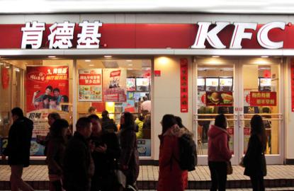 Yum Brands Inc's KFC in China