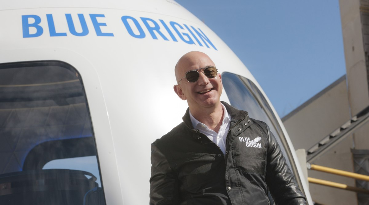 Jeff Bezos will go to space in his own Blue Origin flight