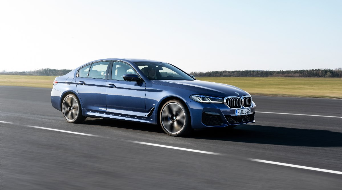 BMW launches the latest generation of its popular BMW 5 Series luxury sedan