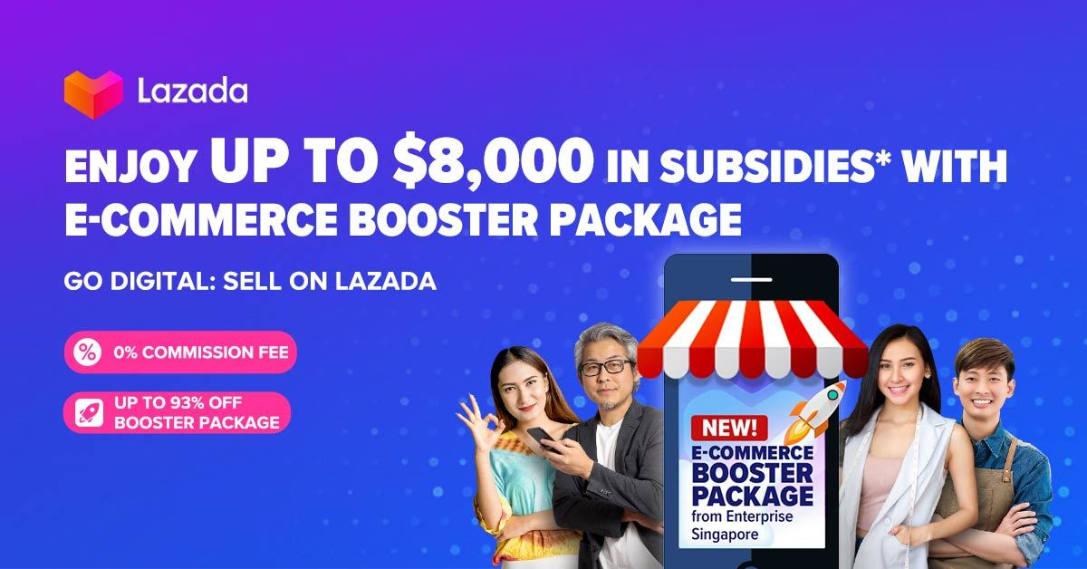 Lazada and Enterprise Singapore to offer subsidies for SMEs to go digital