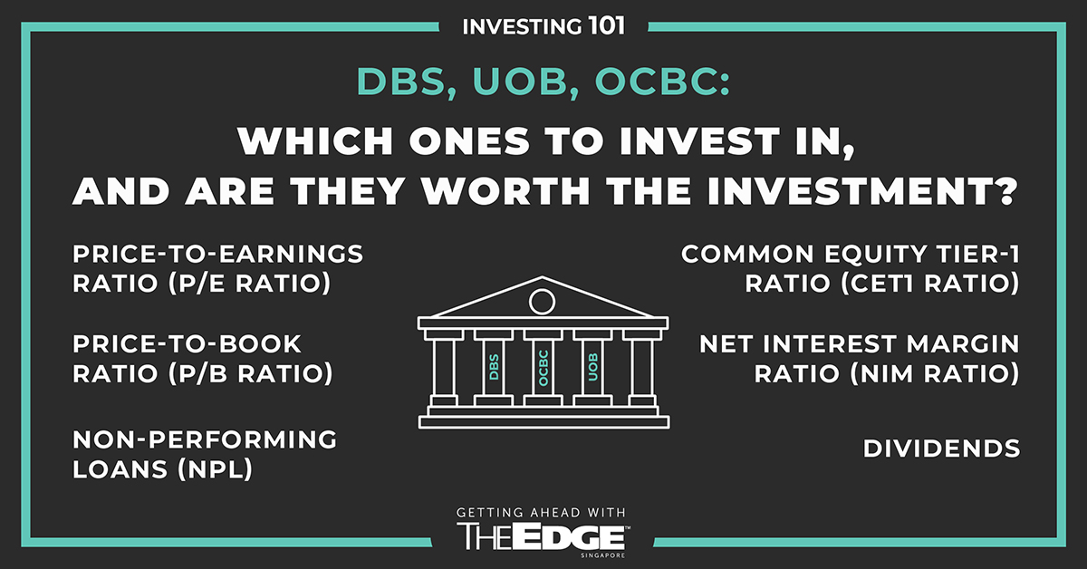 DBS, UOB, OCBC: Which ones to invest in, and are they worth the investment? - THE EDGE SINGAPORE