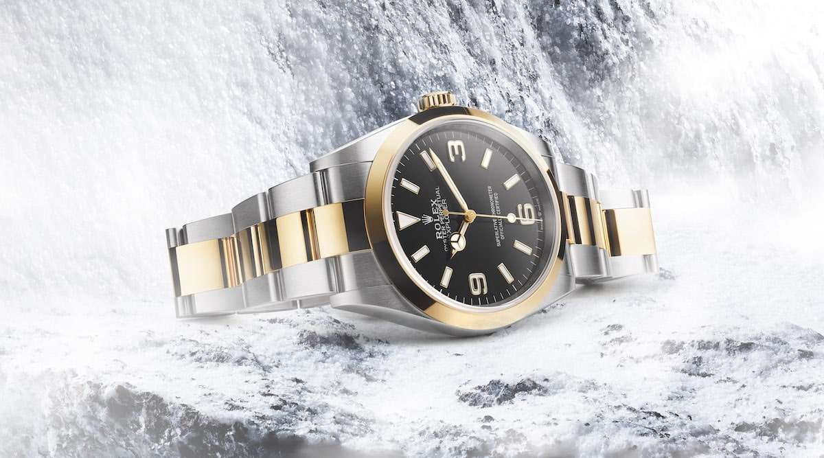 Rolex pays homage to the spirit of adventure with the Oyster Perpetual Explorer and Explorer II