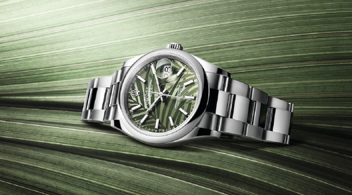 Unique dial designs in Rolex's latest Oyster Perpetual Datejust 36 - THE EDGE SINGAPORE