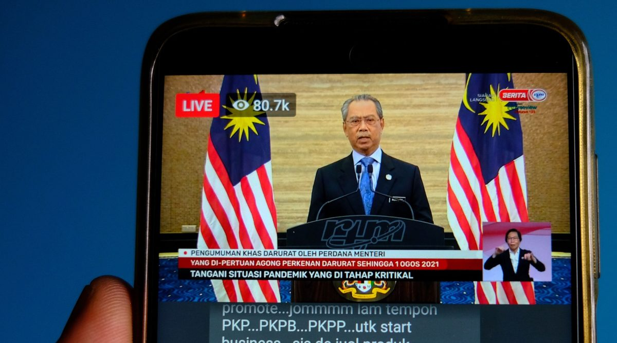 Malaysian PM Muhyiddin accused of power grab after Parliament suspended