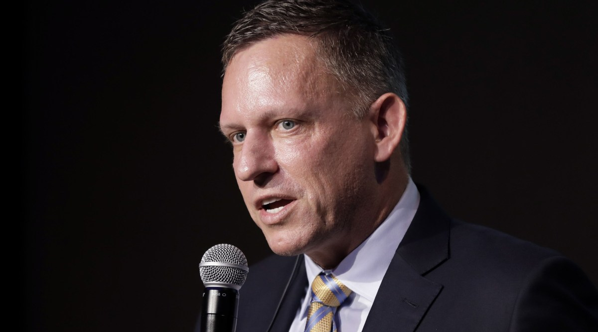 Peter Thiel calls Bitcoin 'a Chinese financial weapon' at virtual roundtable