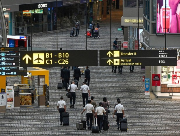 Singapore opens bubble for business travelers at Changi Airport - THE EDGE SINGAPORE