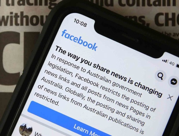 Facebook blocks news in Australia in warning for the world - THE EDGE SINGAPORE