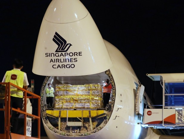 First batch of Covid-19 vaccine arrives in Singapore - THE EDGE SINGAPORE