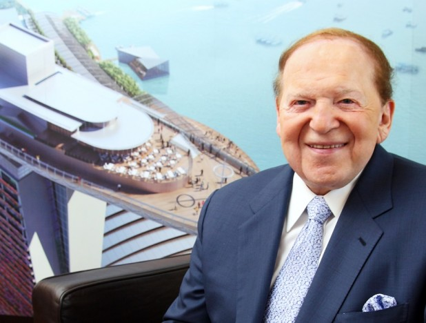 Sheldon Adelson, boss of Marina Bay Sands, dies at 87 - THE EDGE SINGAPORE