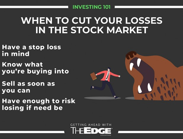 When to cut your losses in the stock market - THE EDGE SINGAPORE