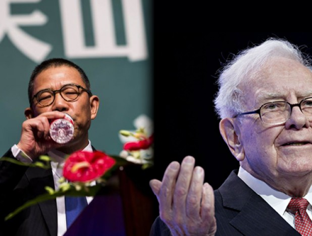 China's bottled water king is now richer than Warren Buffett - THE EDGE SINGAPORE