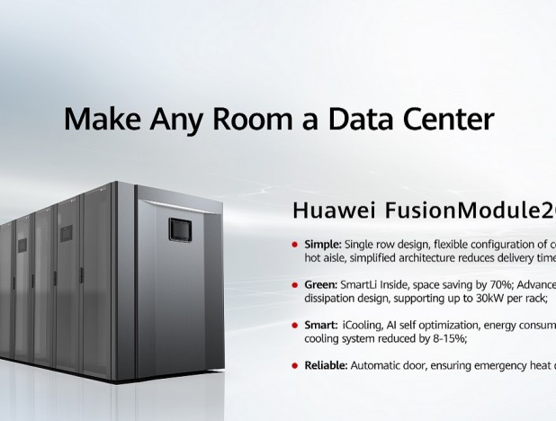 Huawei turns any room into a data centre - THE EDGE SINGAPORE